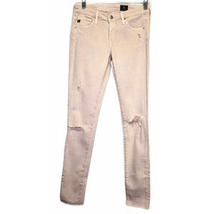 Adriano Goldschmied Distressed Legging Ankle Jean
